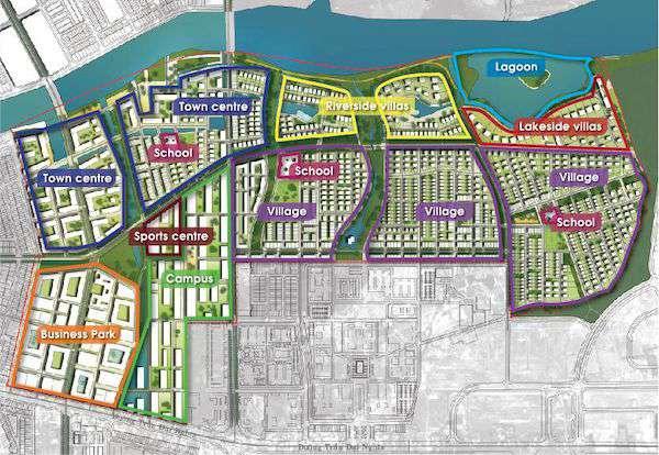 bản đồ khu đô thị fpt city đà nẵng