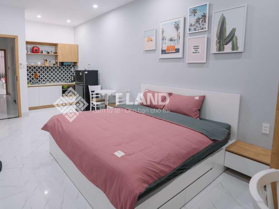 Cho thuê căn hộ 1 phòng ngủ gần biển đẹp- mới xây xong