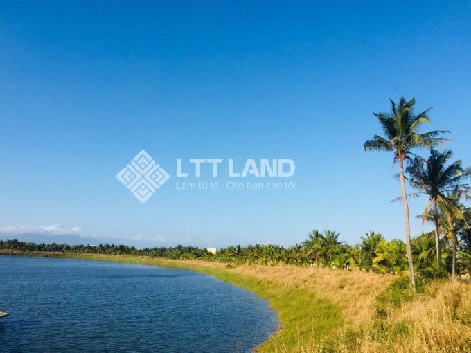 Không gian hồ điều hoà lớn mênh mông tại khu đô thị FPT Cty Đà Nẵng
