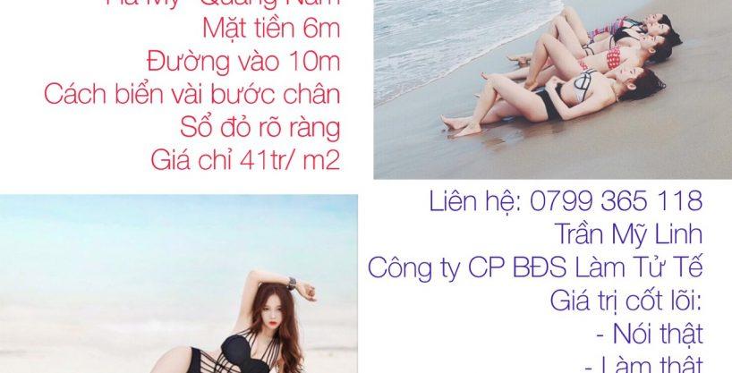 Đất biển 180m2 Quảng Nam
