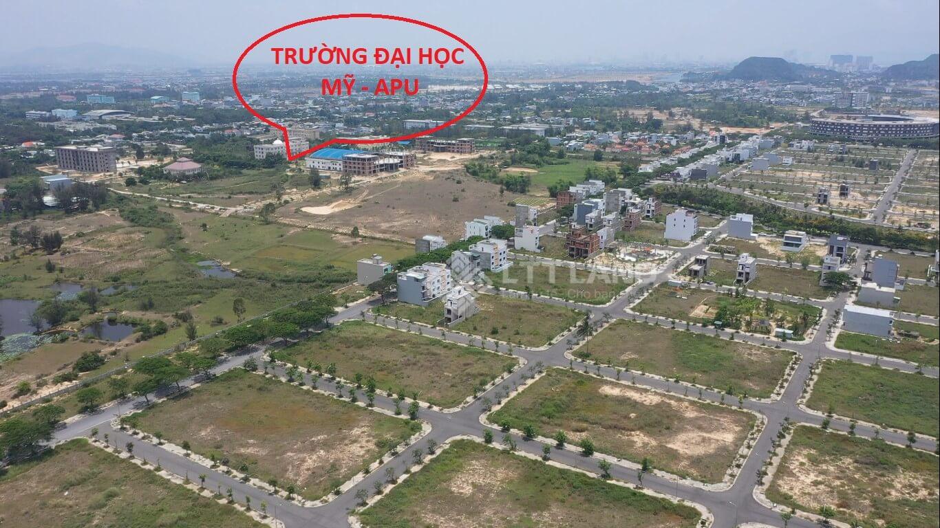 Bán lô đất 2 mặt tiền trục Shophouse FPT Đà Nẵng