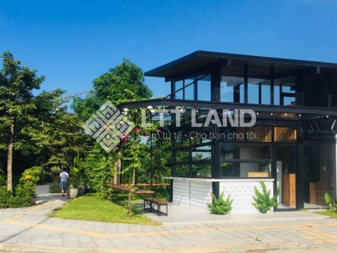 Quán cafe duy nhất nằm trên trục chính shophouse của khu đô thị fpt