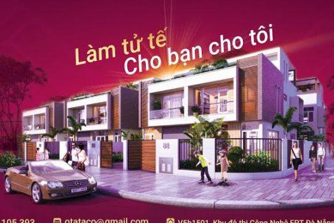 Ban nhà tại khu đô thị FPT city Đà Nẵng