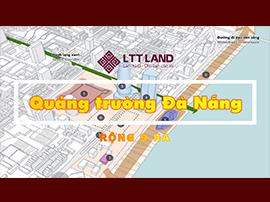 Quảng trường trung tâm TP Đà Nẵng