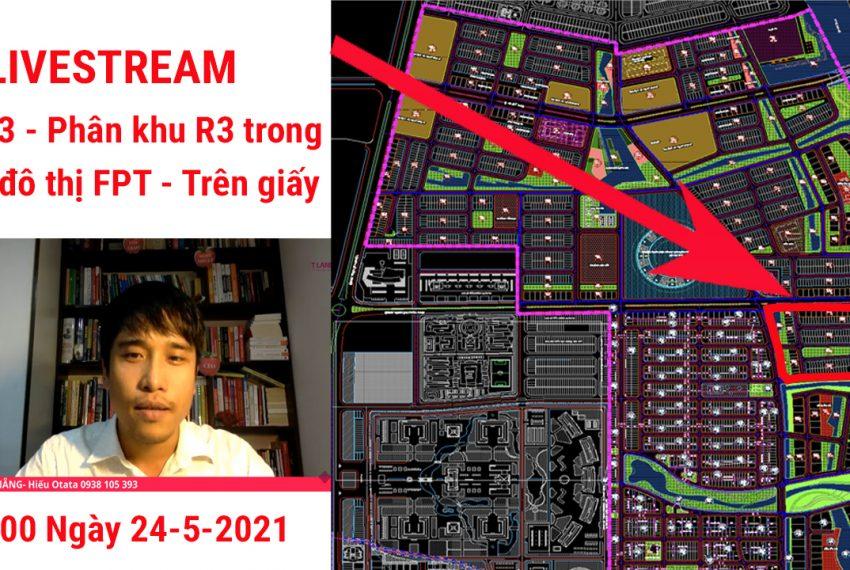 Phân khu R3 FPT Đà Nẵng trên giấy