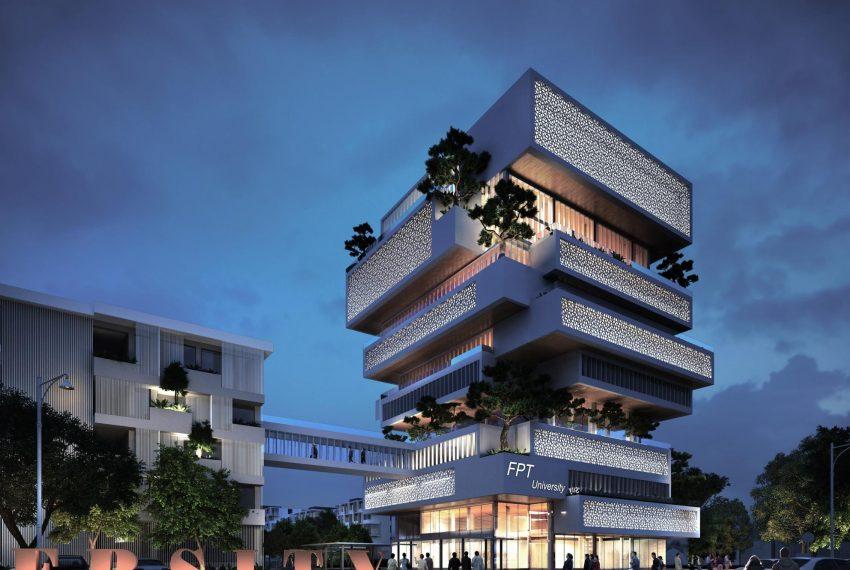Tòa nhà Alpha - trường đại học FPT Đà Nẵng